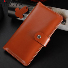 High Quality Mobile Phone Pouch Cover Real leather skin phone cover case for htc one e9s