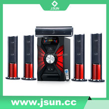 New arrive guangdong long range 5.1 surround wireless speakers