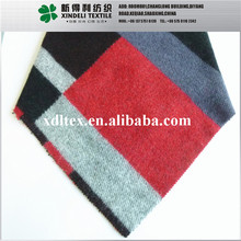 XL25050 Fashion lady's wear material geometric configuration drown wool cashmere blend fabric