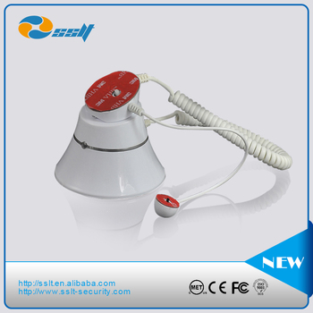Security alarm magnetic phone holder