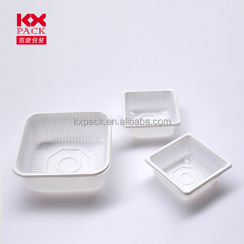 Disposable pp mooncake plastic containers