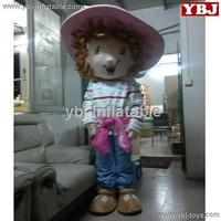 Buy Good ventilation cartoon strawberry shortcake mascot costume ...
