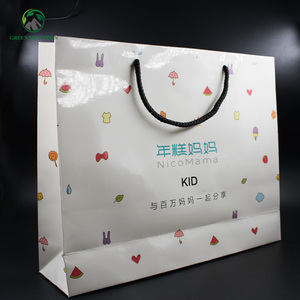 Custom brown kraft 4 bundles wig hair packaging paper bag