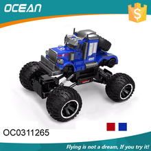 Kids electric 2.4G rock 1:14 remote control toy car with usb cable