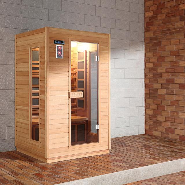 HS-SR90CF multi-function sauna room single person sauna infrared
