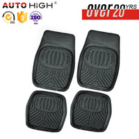 Natural rubber tire grain car floor mat