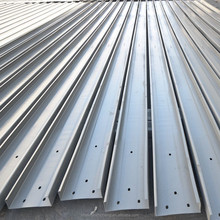 DIN perforated holes GI SS400 Good Reputation rust proofing C type channel steel purlin factory wholesale for roof purlins
