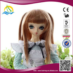 2015 New product japanese cheap doll wig