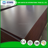 21MM Black film faced plywood / Shuttering Plywood / Building Construction Materials