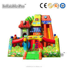 High Quality Commercial Inflatable High Dry Slide For Sale