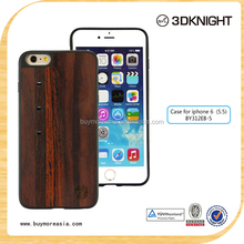 3D Knight Famous Wooden Bamboo Original Crystal Bling Bling Cell Phone Case for iPhone 6 6s Plus