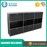 Customized high quality sheet metal color combinations TRANSCUBE modular filing cabinet