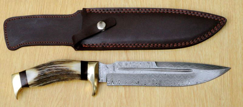 Damascus Steel Bugadi Knife