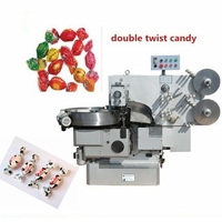 Popular automatic double twist toffee candy packing machine with lowest price high quality