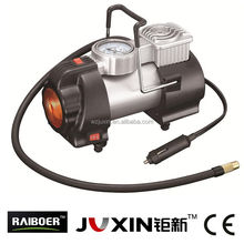 12V metal car air compressor with light