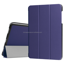 High Quality CASTEL Triple Fold Leather Flip Tablet Cover Case for Lenovo Tab 2 A7-20F