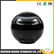 Factory Price AJ-69 Wireless Ball Shap Round Mini Bluetooth Speaker with LED Flash Light
