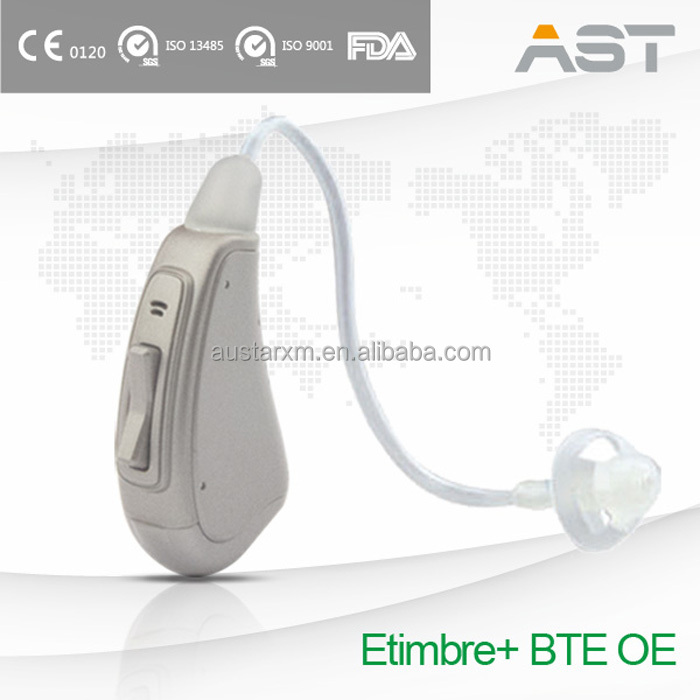Etimbre+ Fashionable Press Button Hearing Aid BTE OE China Prices
