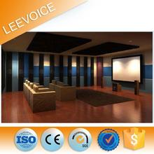 Fire Resistant Acoustic Ceiling Mdf Wooden Acoustic Melamine Wall Panel