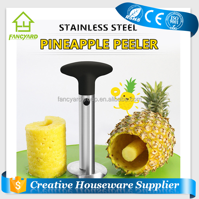 FY5137 High Quality Cheap Price Stainless Steel Pineapple Corer Peeler