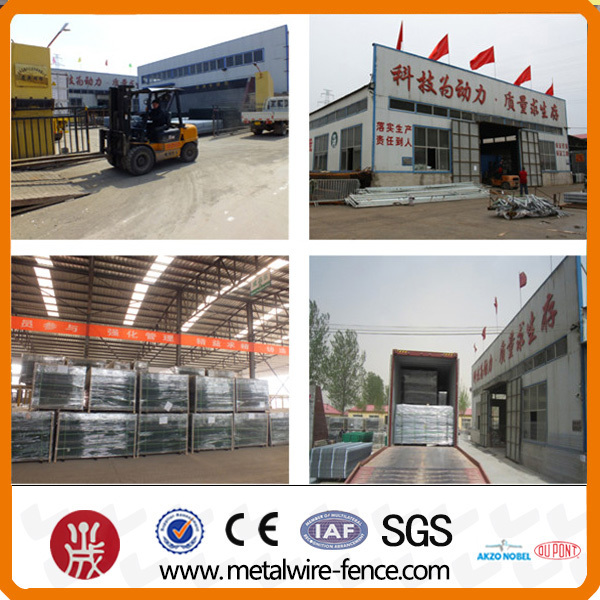 portable metal fencing for Australia(factory)
