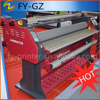 Automatic hot roll laminator ADL-1600H5+ laminating machine