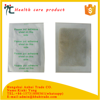 herbal detox foot patch for body health