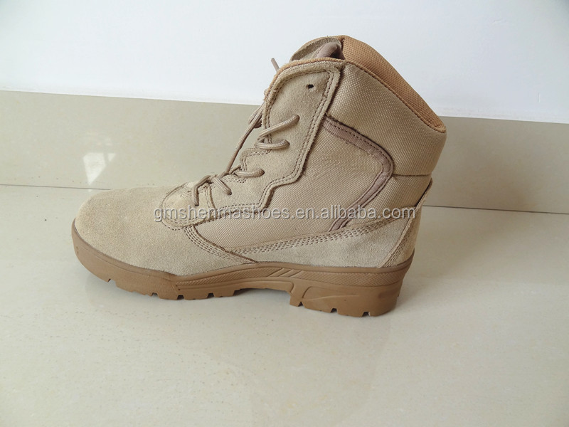 cow suede leather ,rubber outsole ,breathable mesh lining SM6100 high quality safety shoes for european market
