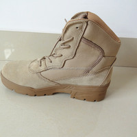 Cow Suede Leather Rubber Outsole Breathable