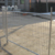 China Haotian factory heavy construction site temporary chain link fence rental