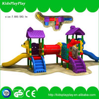 Good Quality Kids Rubber-Coating Outdoor Playground Equipment