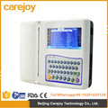 2016 Health & Medical equipment 10 inch Touch Screen 12 channel ecg low price