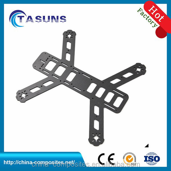 Custom Made CNC Cutting Carbon Fiber Drone Parts