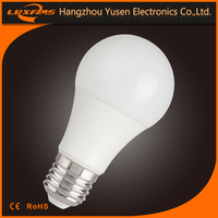 HIGH cost-effective e27 A60 5w 200 degrees led bulb light