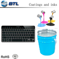 Excellent weather silicone colorful spray for electronic product keyboard