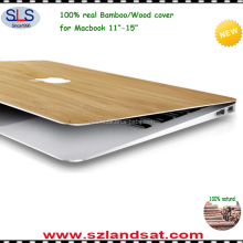 2016 new products blank bamboo wood cover for macbook air pro retina 11 12 13 15 case for macbook wooden cover wholesale WMC002