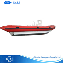 2017NEW V hull aluminum hull rib inflatable boat sightseeing boat passenger boat