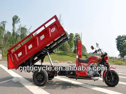175cc air three wheel cargo motorcycle with hydraulic lifter