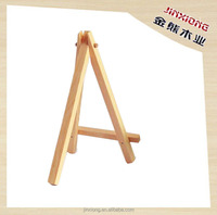 MIni wooden art holder artwork display table-top easels