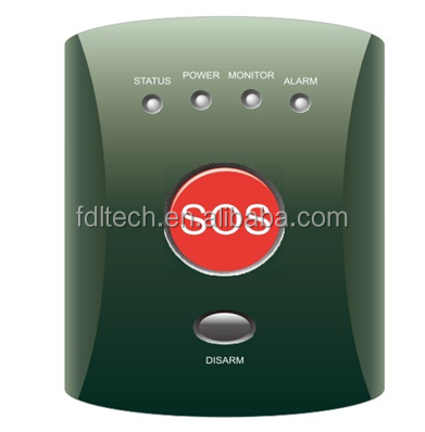 FDL-007EG China product ! GSM Personal Panic button Alarm system with SOS button Protect Elderly