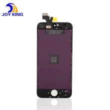 100% Original AAA grade digitizer assembly Glass touch screen display lcd flex cable for iphone 5
