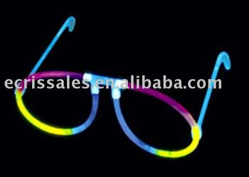 ali express promotion gift Glow Glasses flashing light