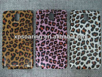 leopard hard skin cover case for Samsung galaxy Note 3 N9000
