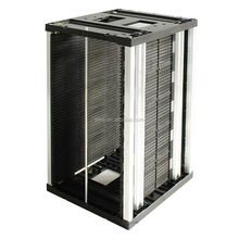 Anti Static High Temperature Resistance Adjustable ESD Magazine SMT Storage Holder PCB Rack