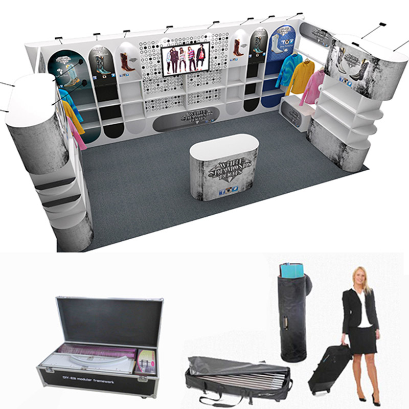 Portable Exhibition Booth : List manufacturers of portable exhibition booth buy