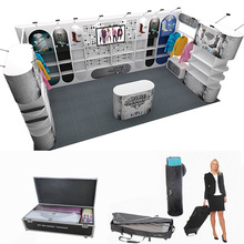 Custom Flexible Modular Portable Exhibition Trade Show Booth for Clothing Show