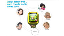 hot sale mtk 6261 gsm wrist phone kids gps tracker smart watch