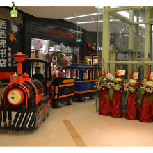 Shopping mall electric tourist children trackless mini trains for sale