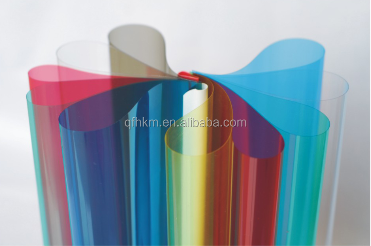 A3 A4 PVC Book Binding Cover 0.12mm 0.15mm 0.25mm 0.30mm Transparent PVC Sheet