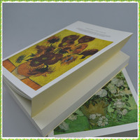 Super-thick Hardcover sketchbook cover with oil printing in stock
